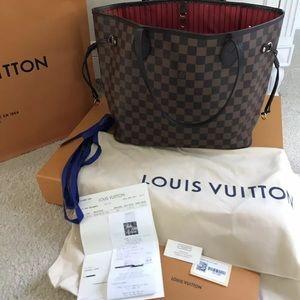 Louis Vuitton Damier Neverfull MM